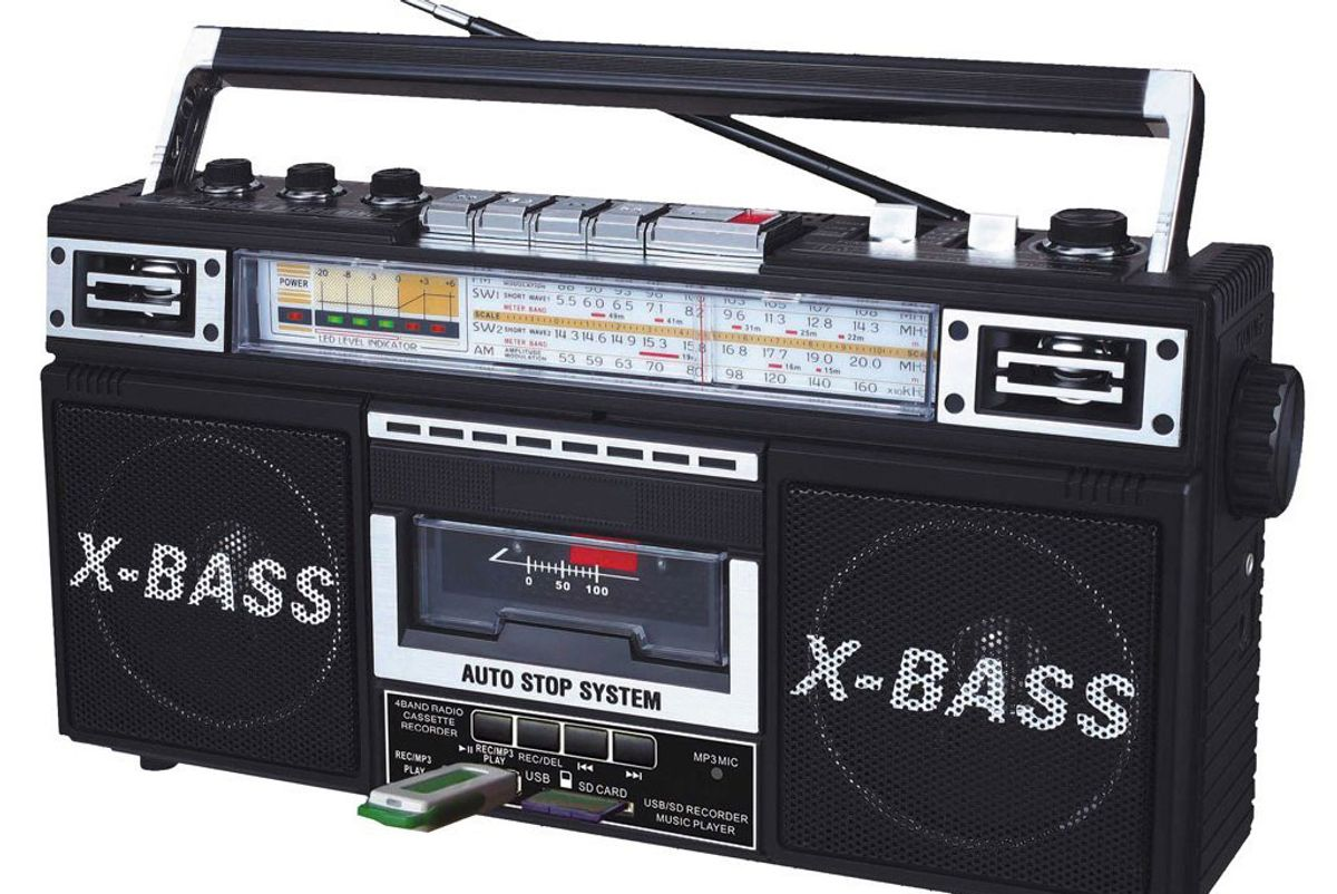 J-22UBK ReRun X Radio and Cassette to MP3 Converter