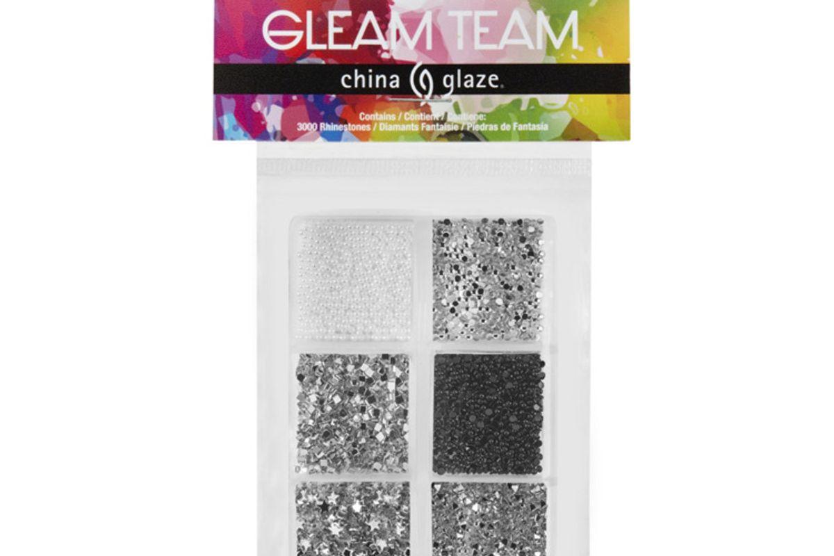 china glaze gleam team stud and rhinestone kit