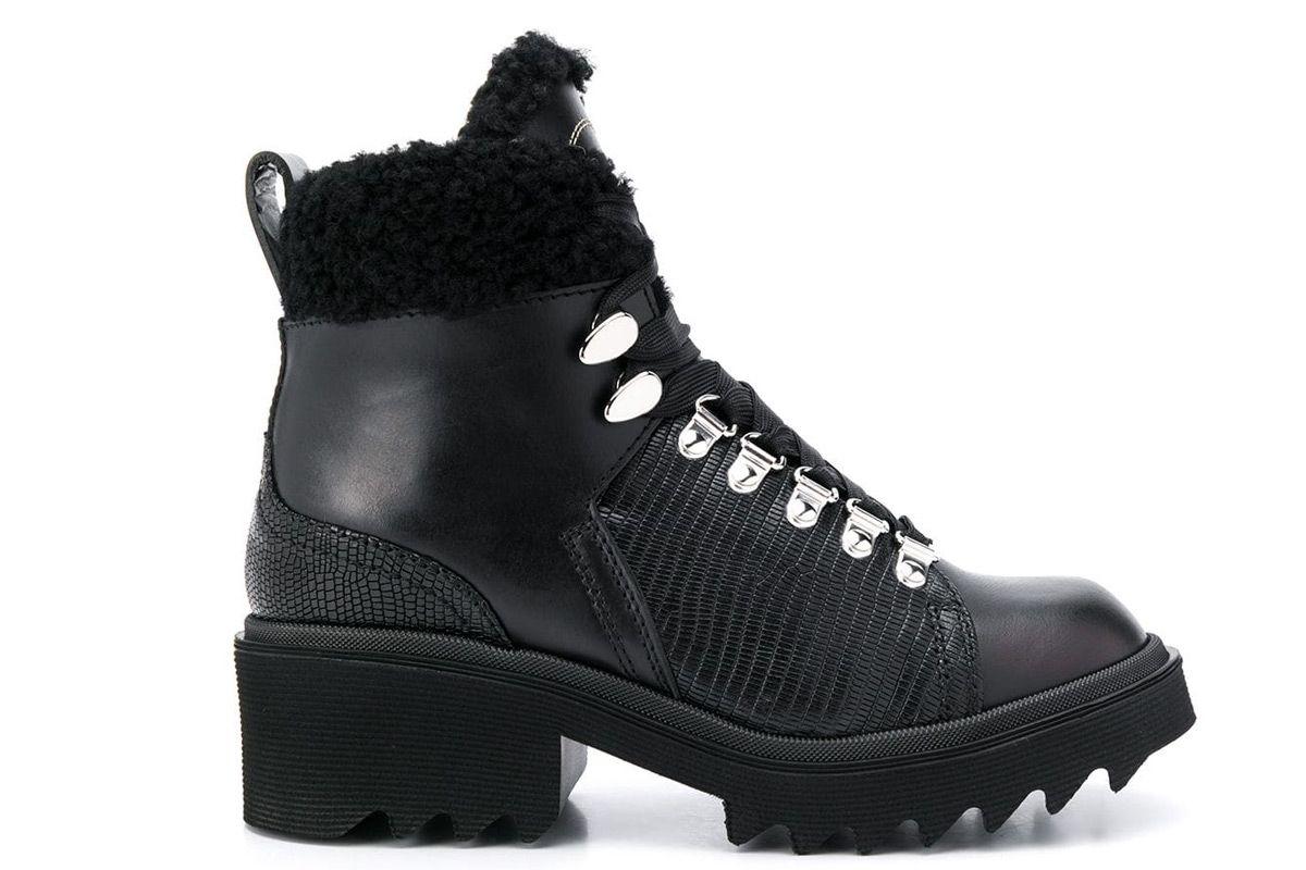 chloe bella shearling boots