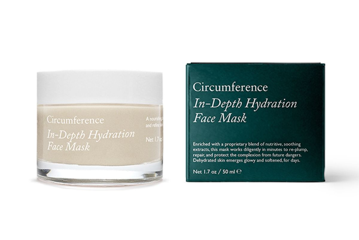 circumference in depth hydration mask
