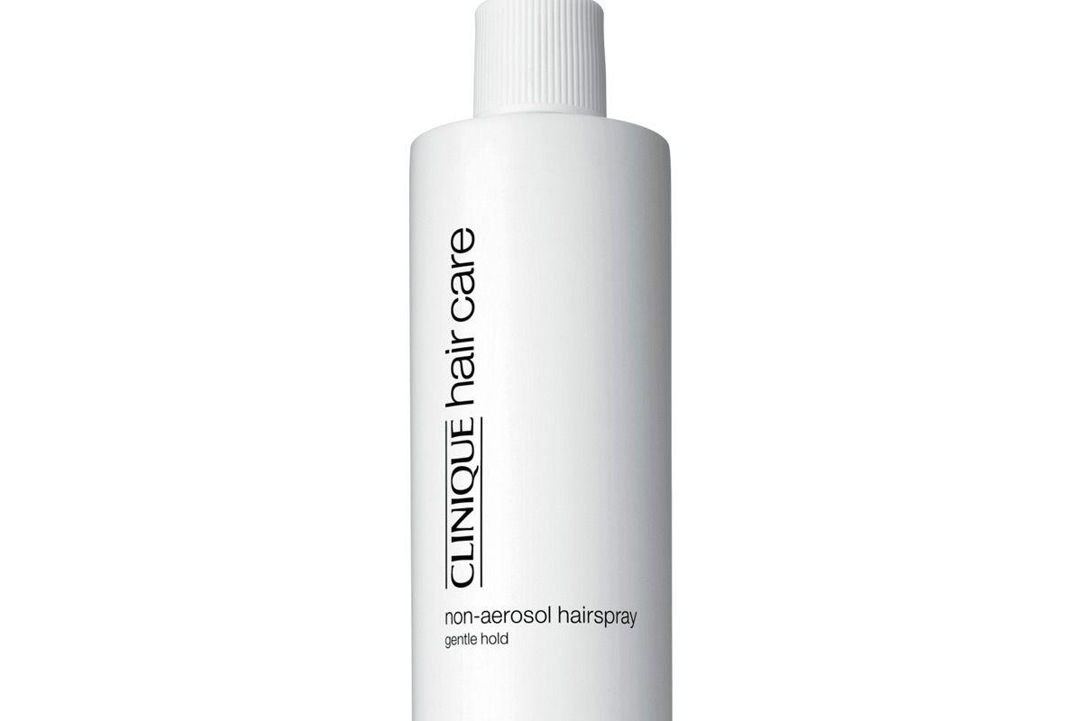 clinique non aerosol hairspray