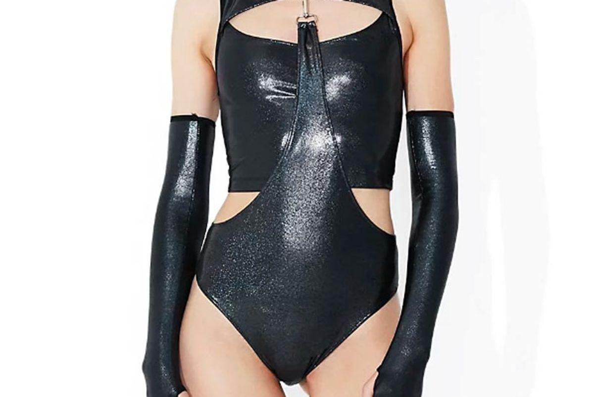 Shadow Trance Gauntlet Bodysuit