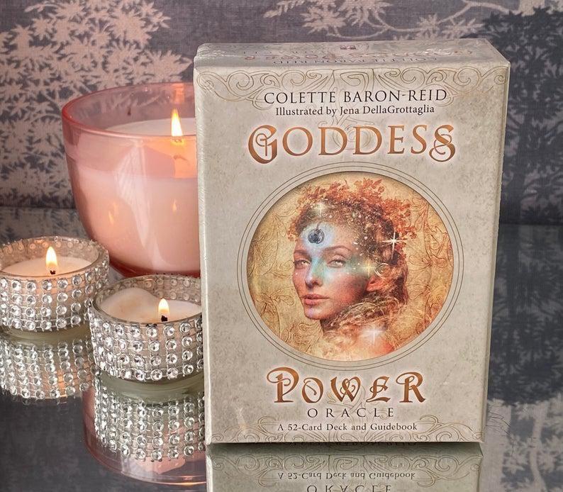 colette baron reid goddess power oracle
