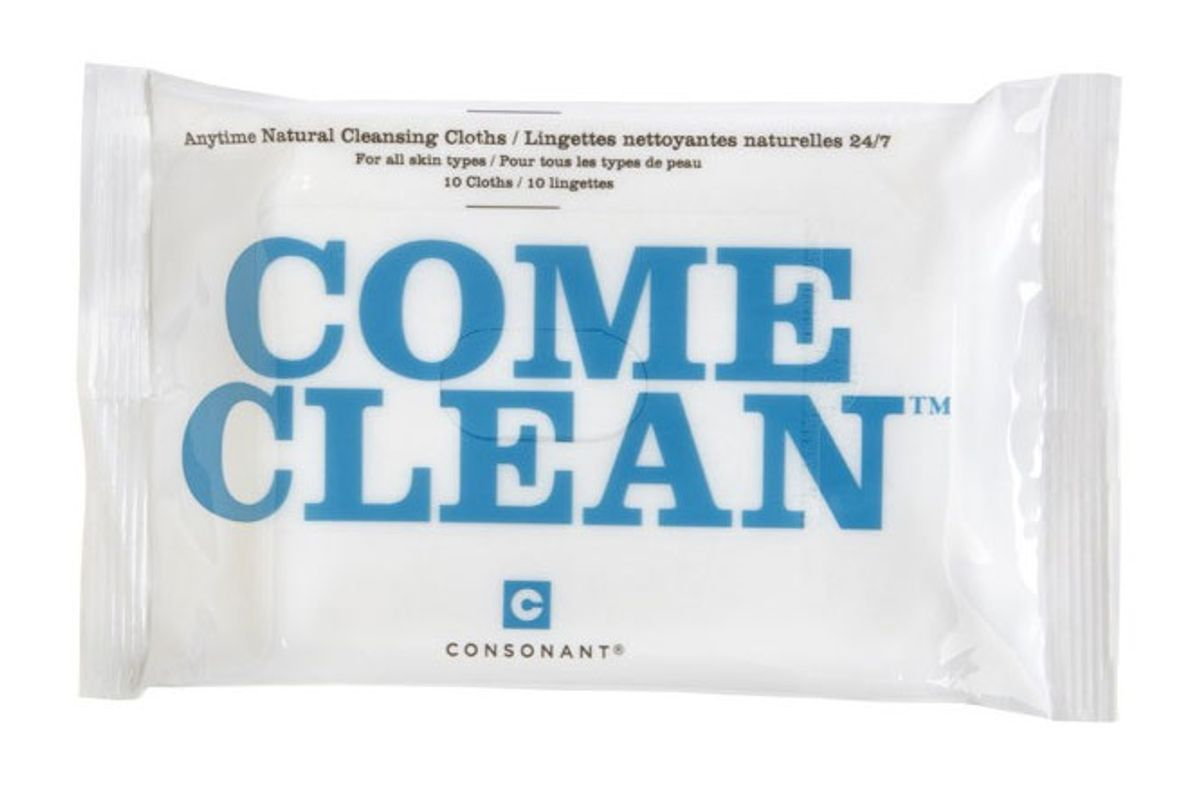 Come Clean 100% Natural Bamboo Cleansing Cloths