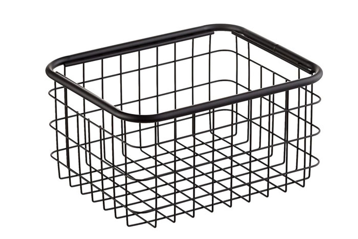 container store urban stacking wire baskets