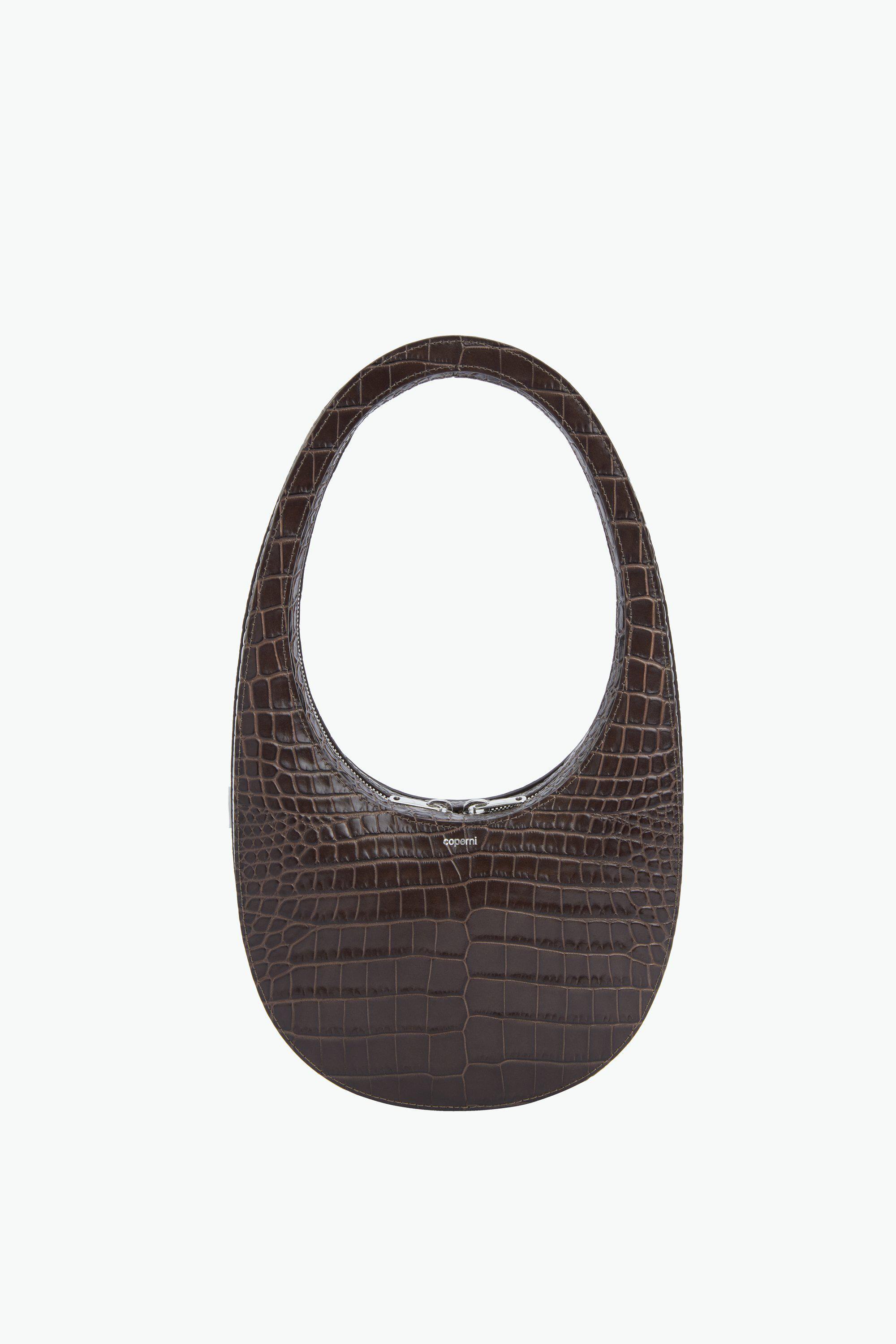 coperniparis croc swipe bag