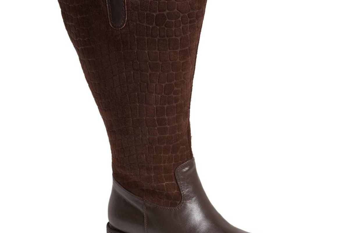 Best Calfskin Leather & Suede Boot