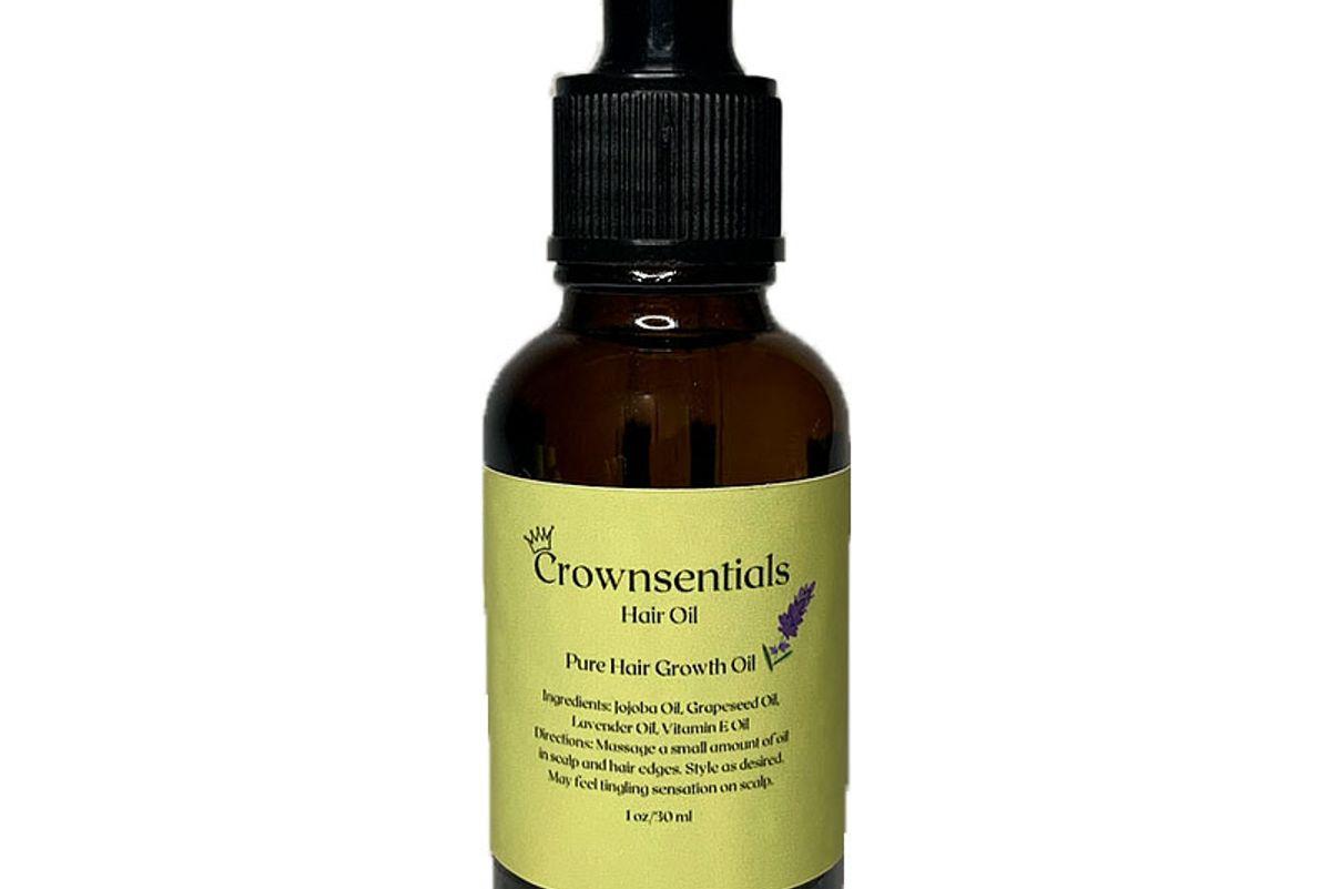 crownsentials pure hair growth oil