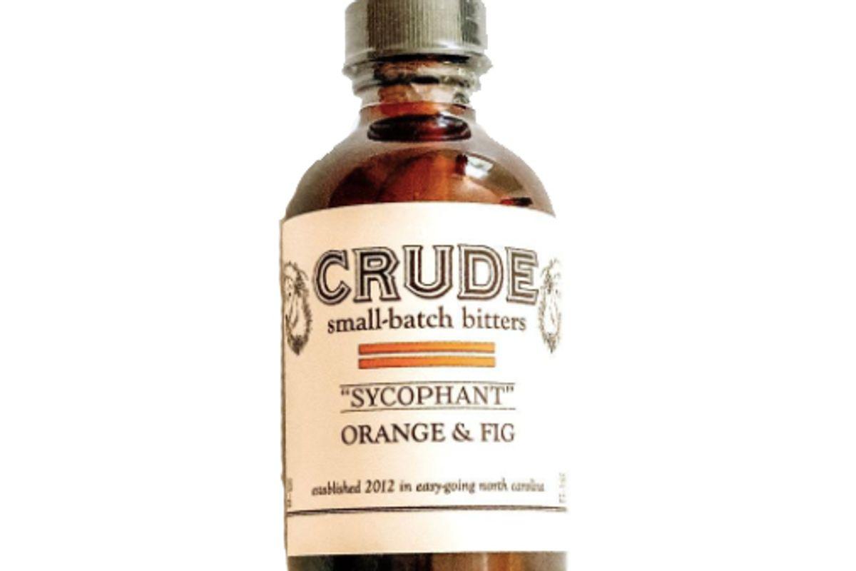 crude sycophant orange and fig bitters