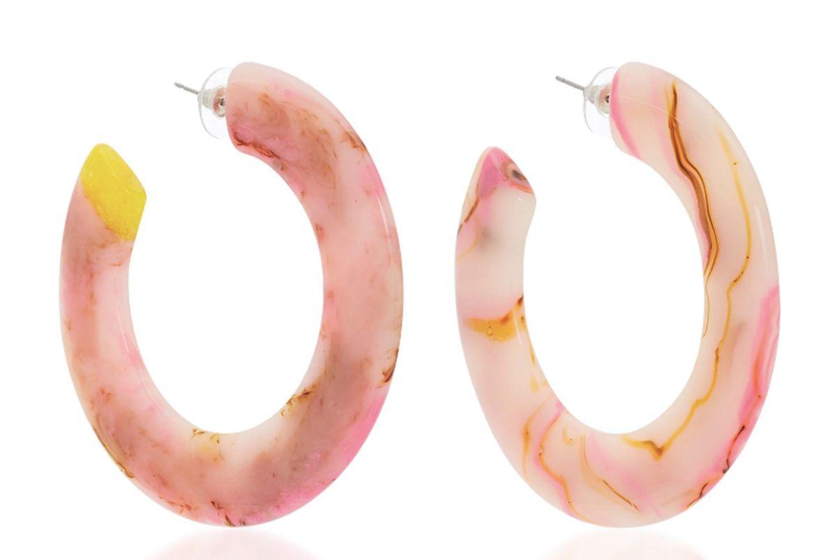 cult gaia kennedy large hoop earrings