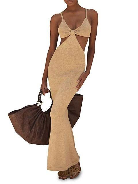 cult gaia serita cutout dress