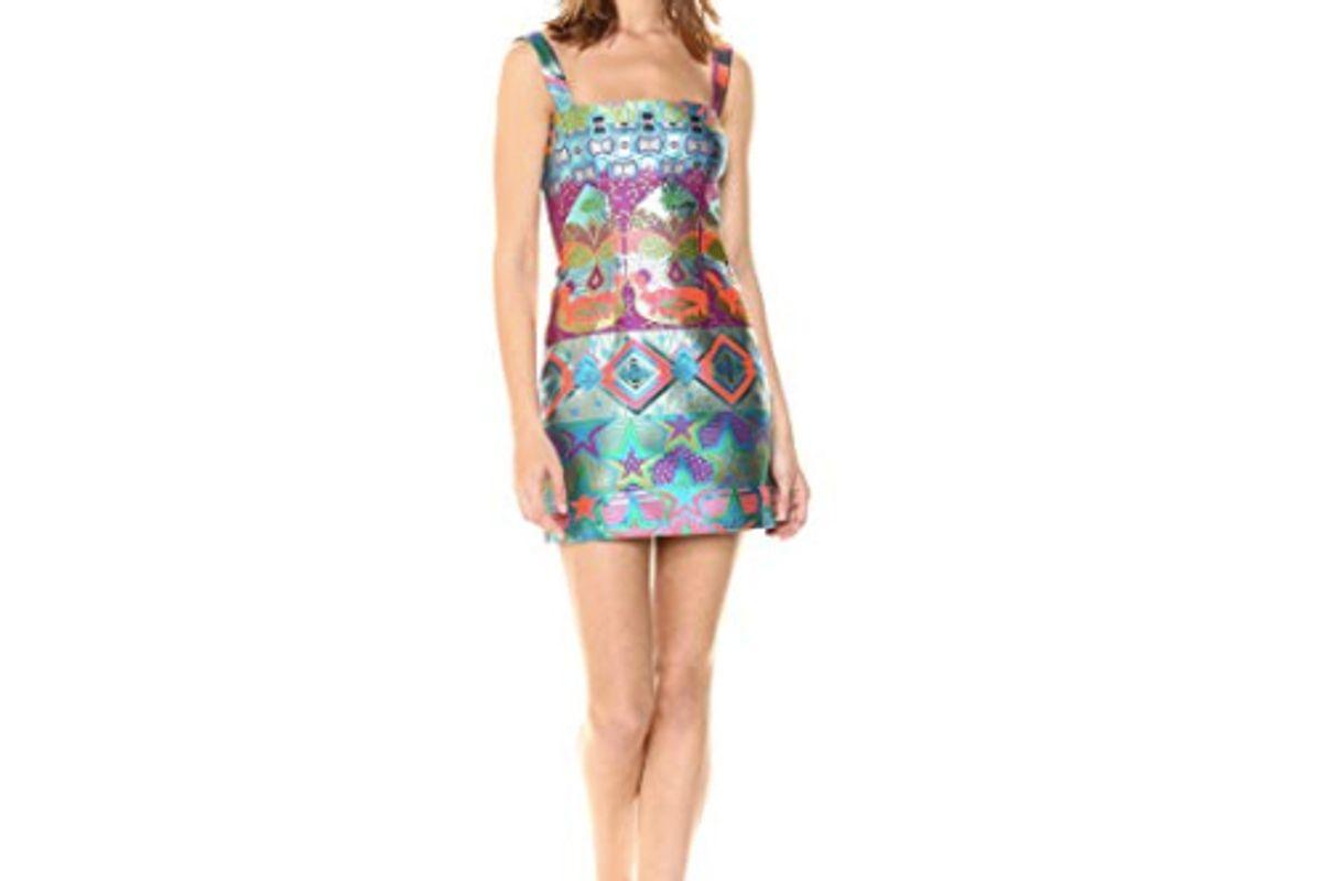 cynthia rowley monte carlo brocade dress