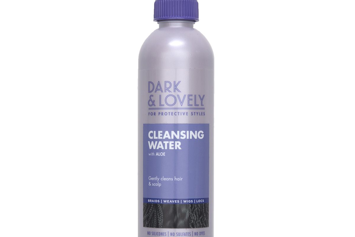dark and lovely cleansing water