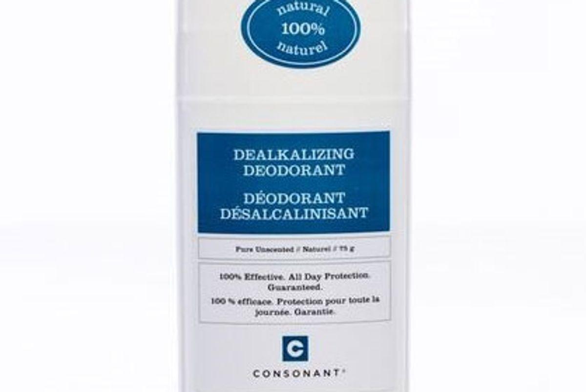 Dealkalizing Deodorant