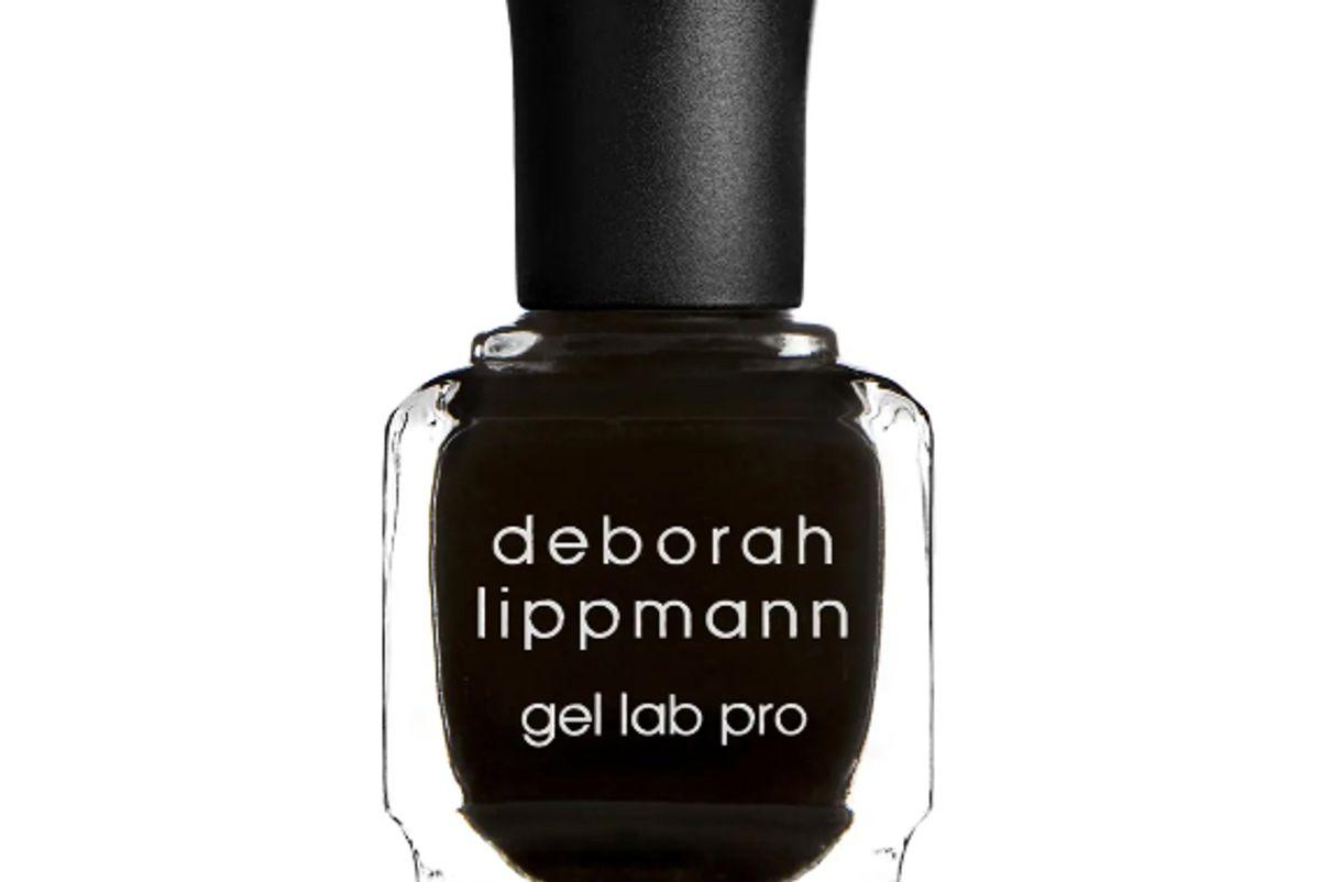 deborah lippmann fade to black gel lab pro nail color