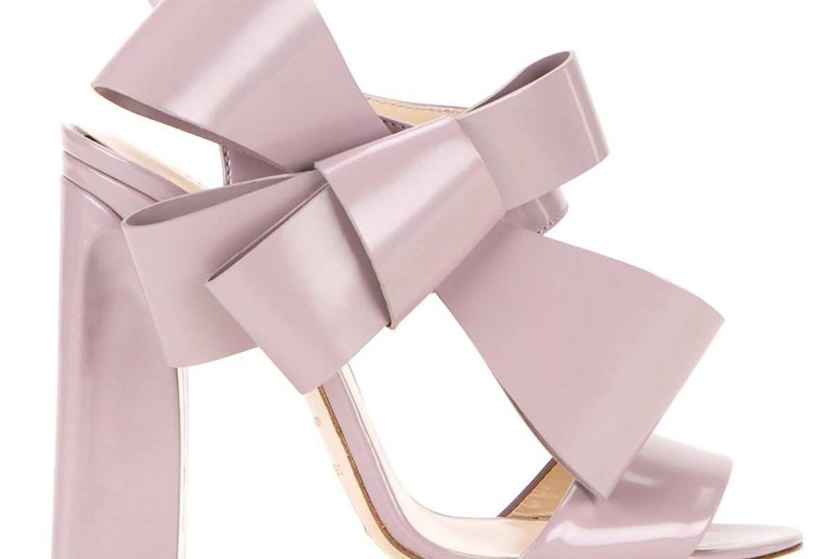 Oversized Bow Sandals