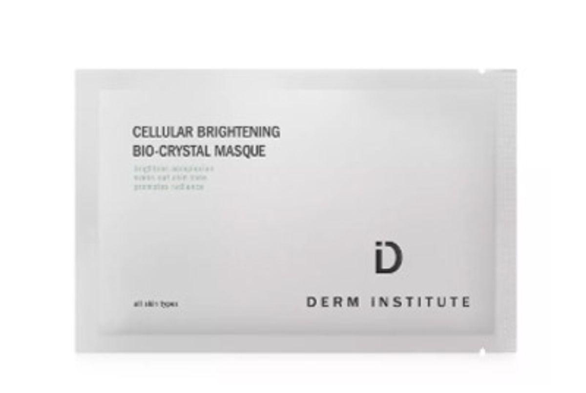 derm institute cellular brightening bio crystal masque