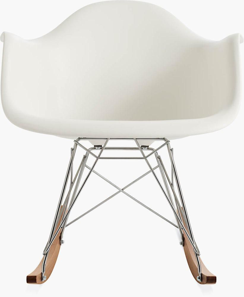 design within reach eames rocking shell chair