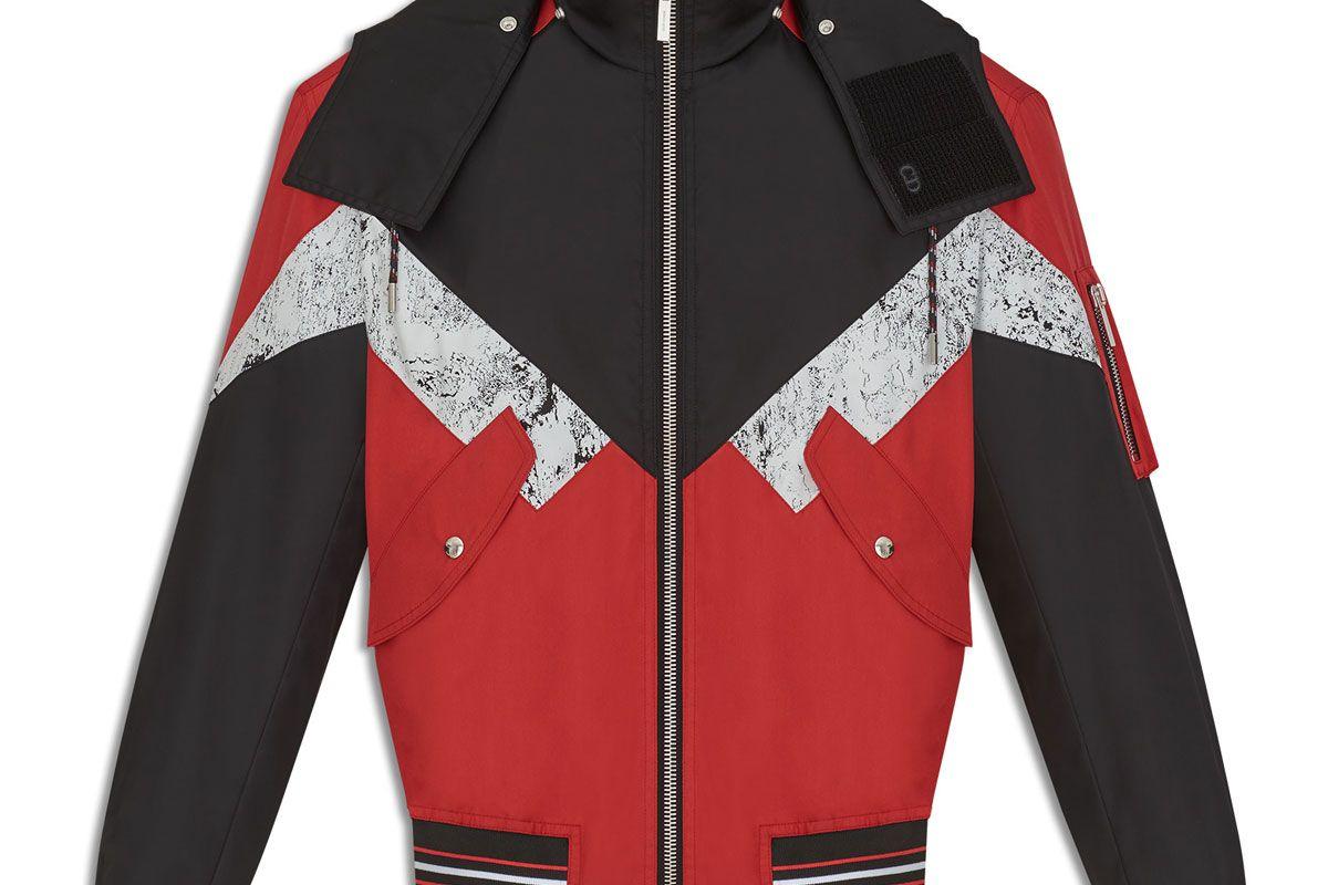 Contrasting Colour Jacket