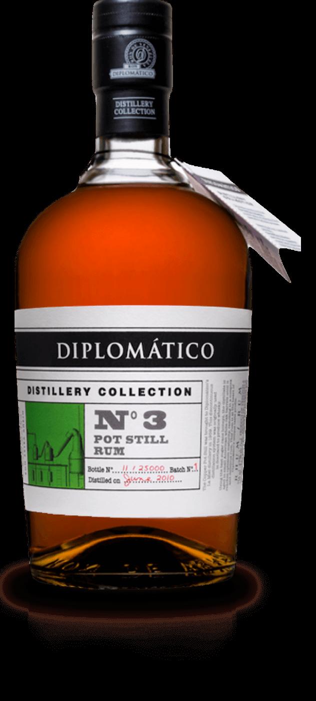 diplomatico n 3 pot still rum