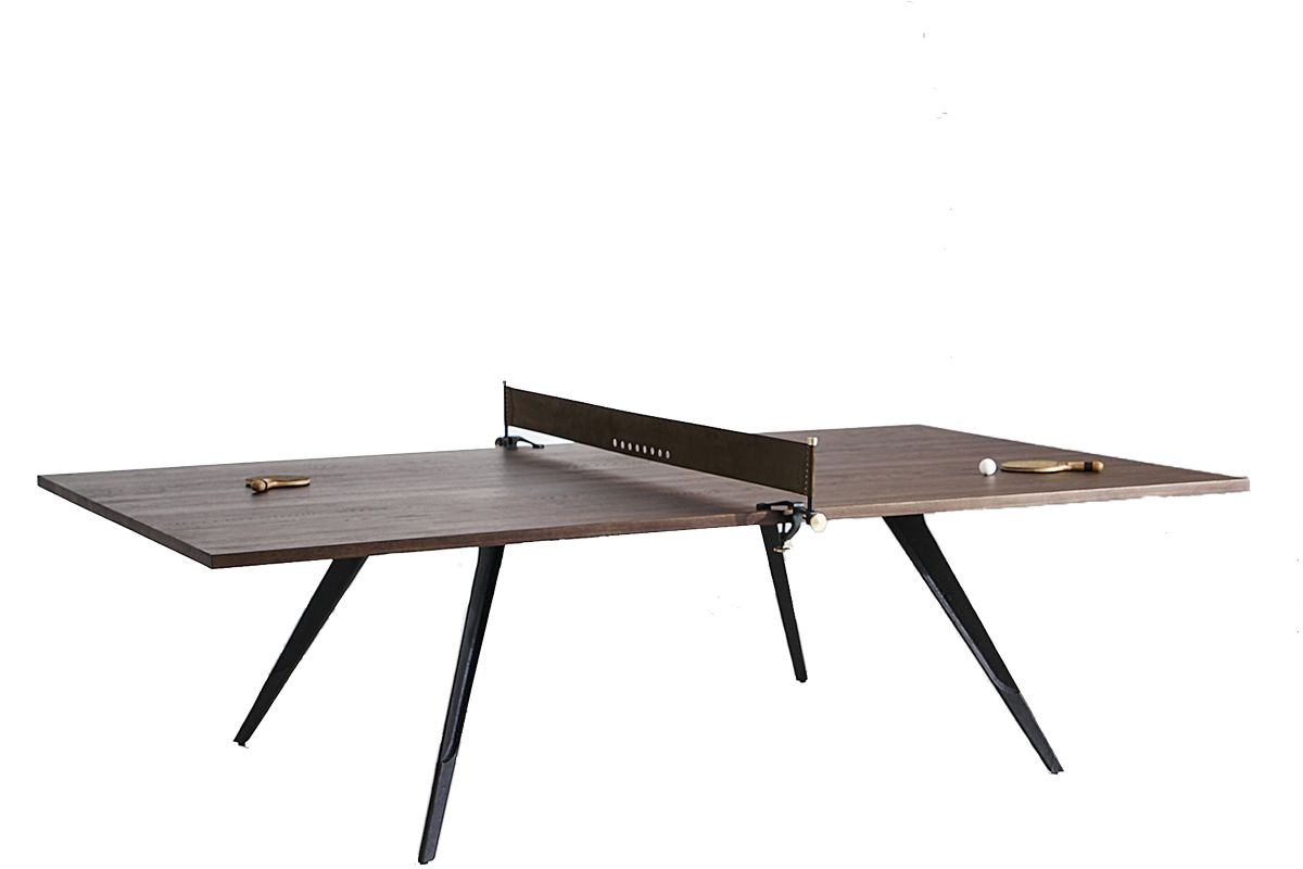 district eight ping pong table gaming table smoked