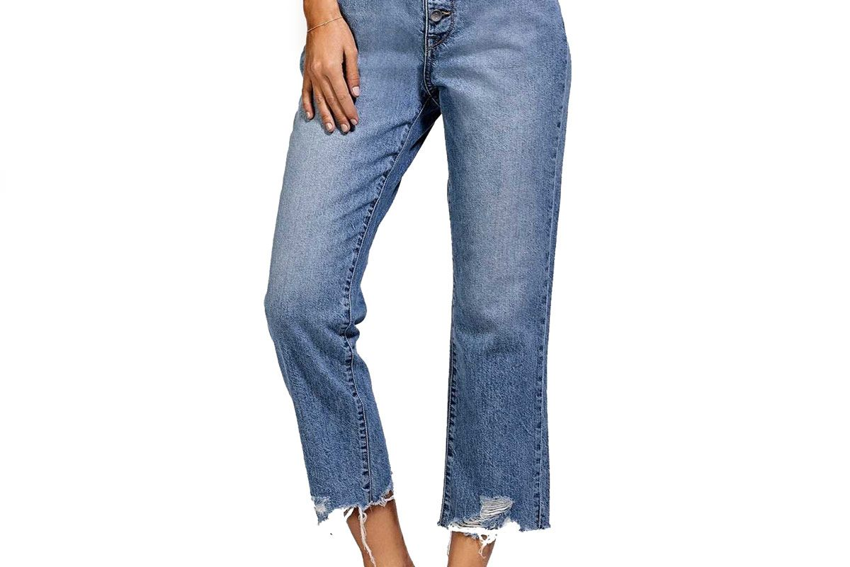 Patti High Rise Straight Jeans