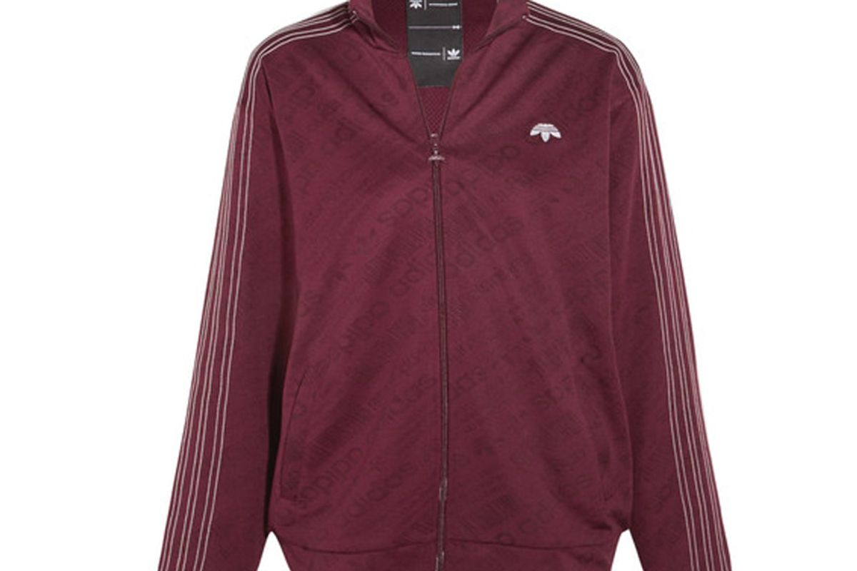 By Alexander Wang Embroidered Stretch-Jacquard Jacket
