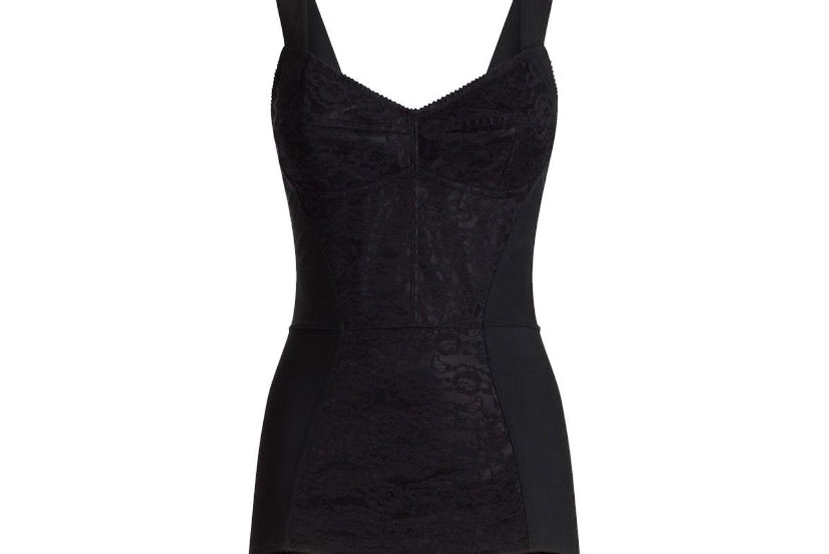 dolce and gabbana lace shaper bodysuit