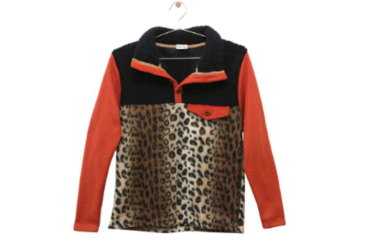 donni tri fleece pullover