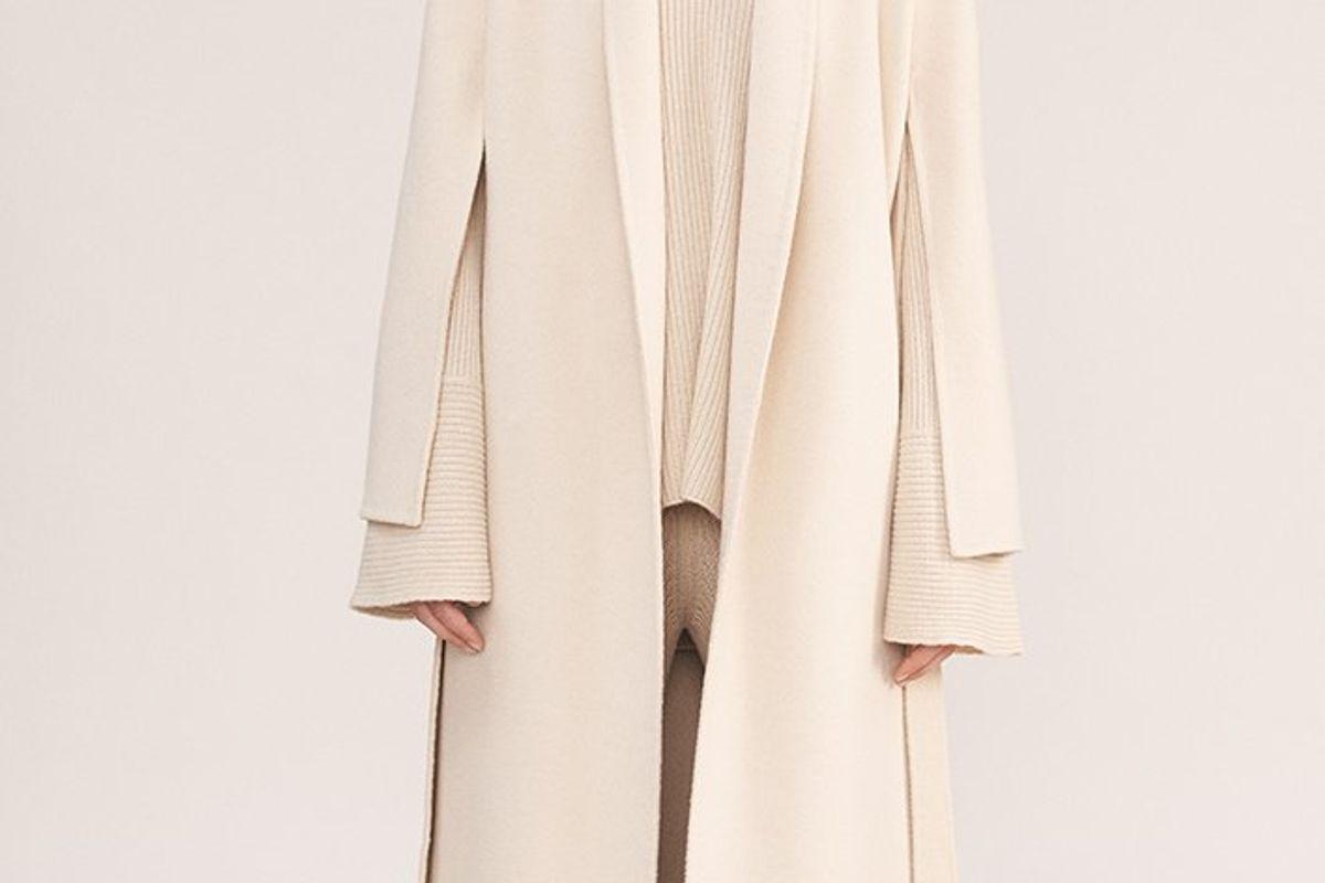 The Dawn Double Face Cashmere Coat