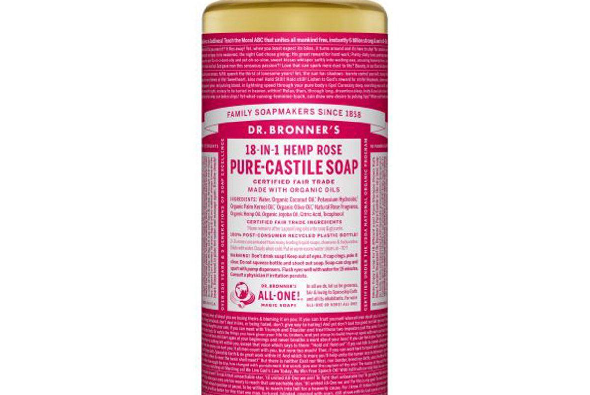Rose Pure-Castile Liquid Soap