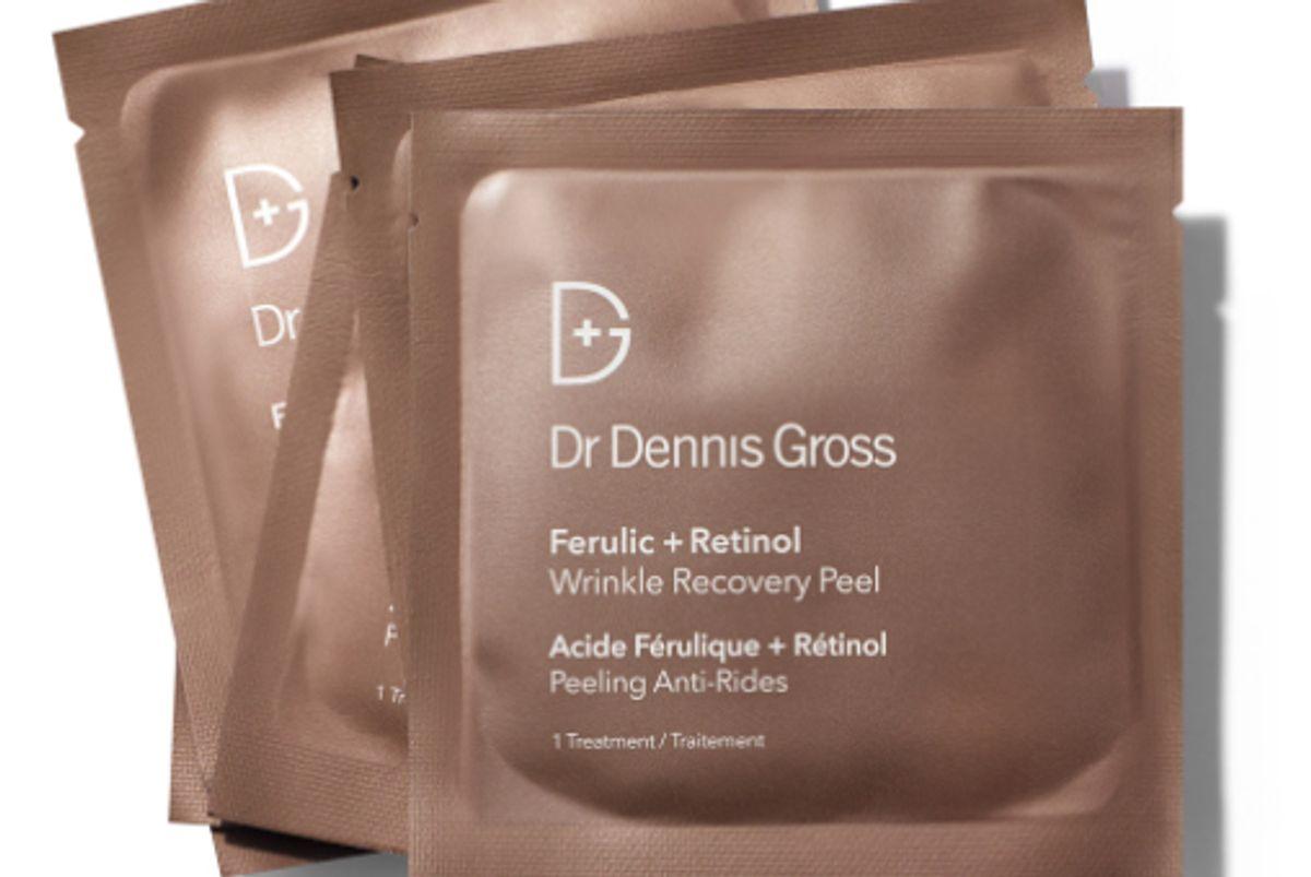 dr dennis gross ferulic and retinol wrinkle recovery peel