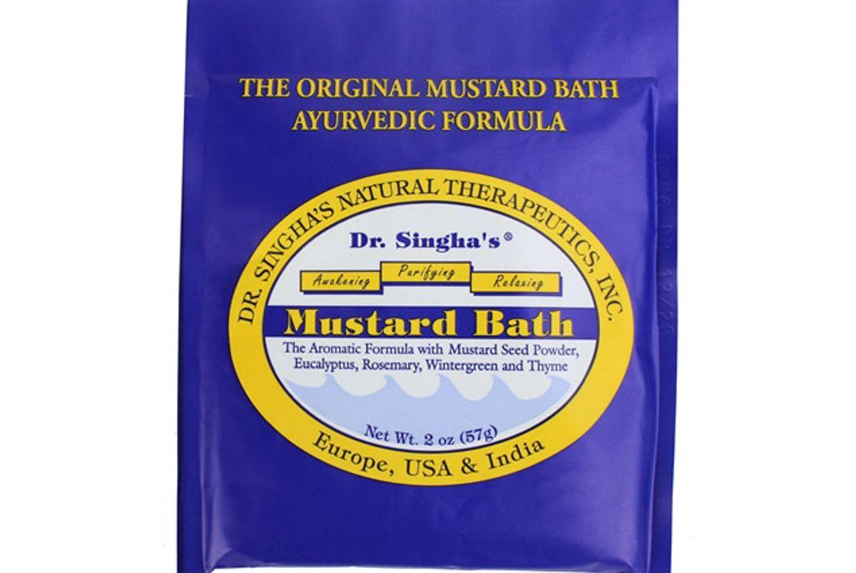 dr singha mustard bath