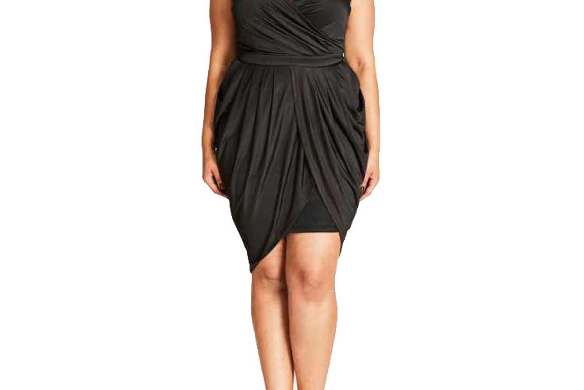 Grecian Drape Dress