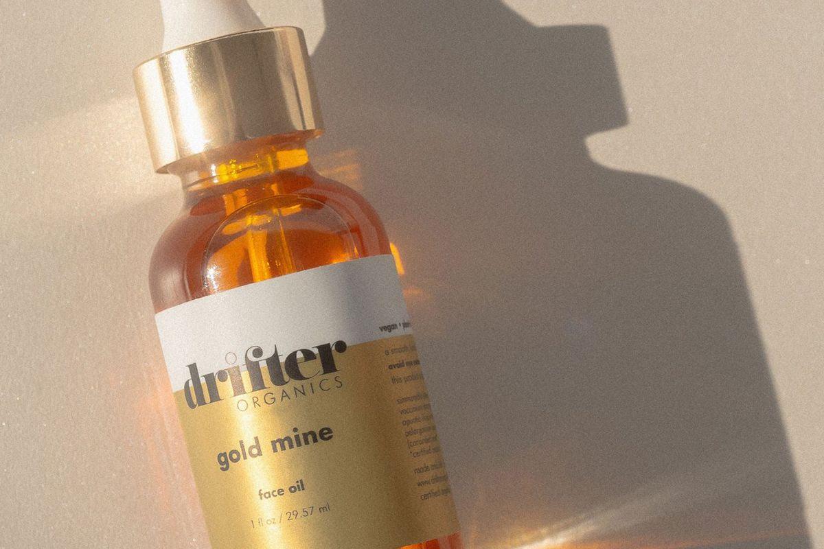drifter organics gold mine face oil