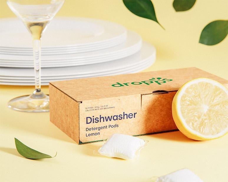 dropps dishwasher detergent