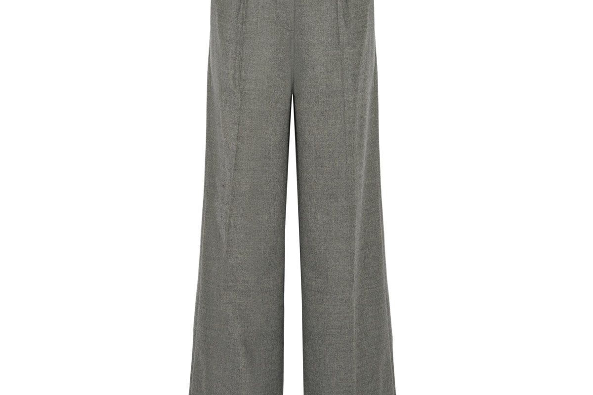 Etta Stretch-Wool Wide-Leg Pants