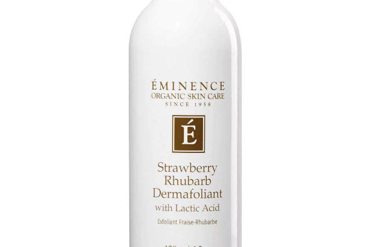 eminence organic skin care strawberry rhubarb dermafoliant