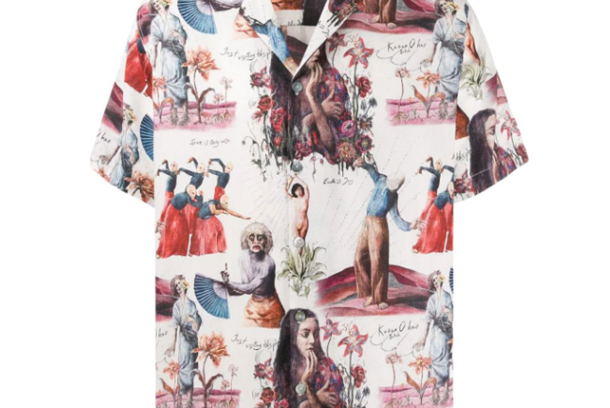 endless joy butoh short sleeve shirt