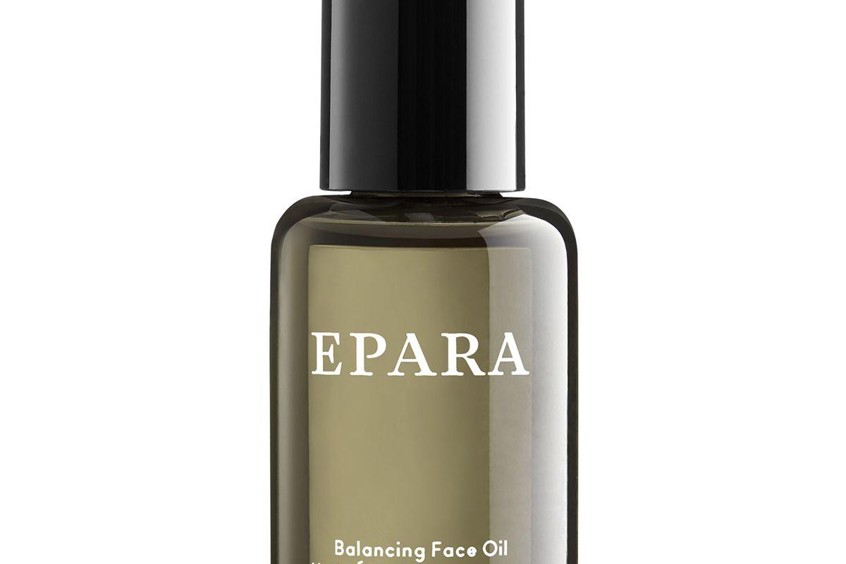 epara skincare balancing face oil