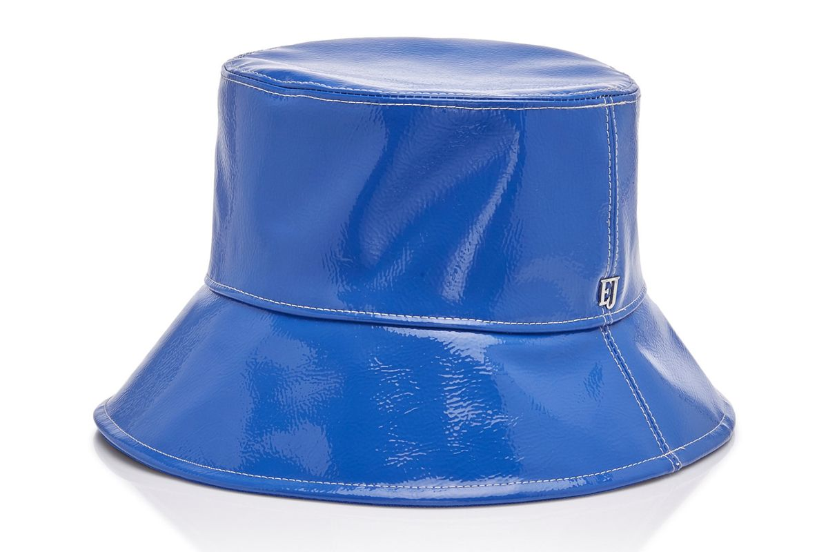 eric javits patti pvc bucket hat