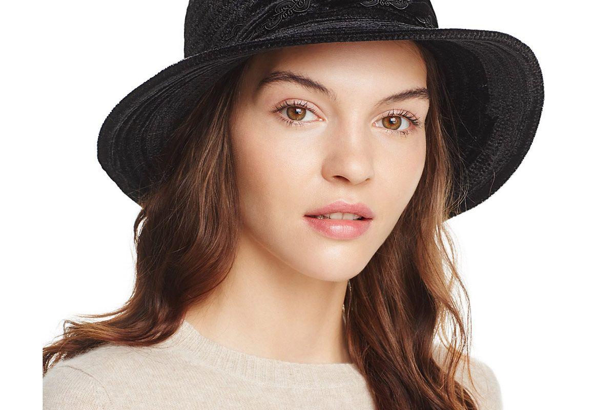 Velvet Spiral Bucket Hat