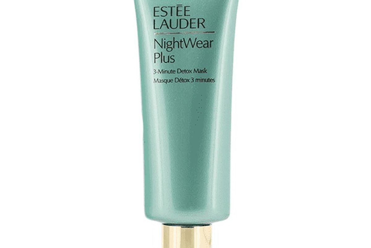 estee lauder nightwear plus 3 minute detox mask