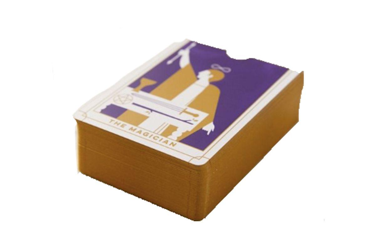 everyday tarot mini tarot card deck guide book