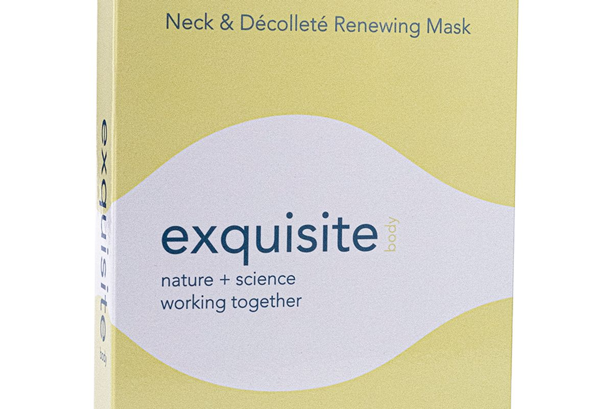 exquisite neck and decollete renewing mask