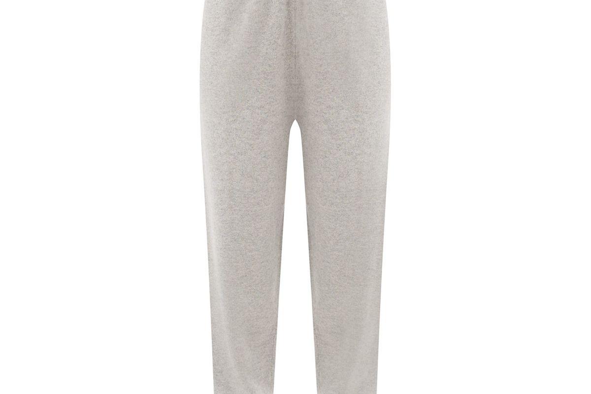 extreme cashmere no 56 yogi stretch cashmere track pants