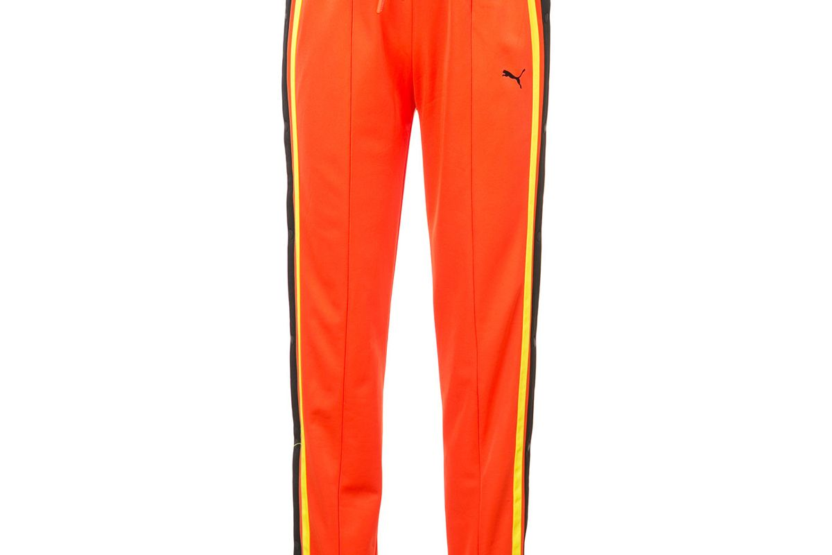 fenty x puma fitted tearaway track trousers