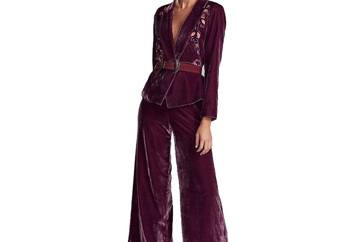 Perfect Illusion Velvet Suit