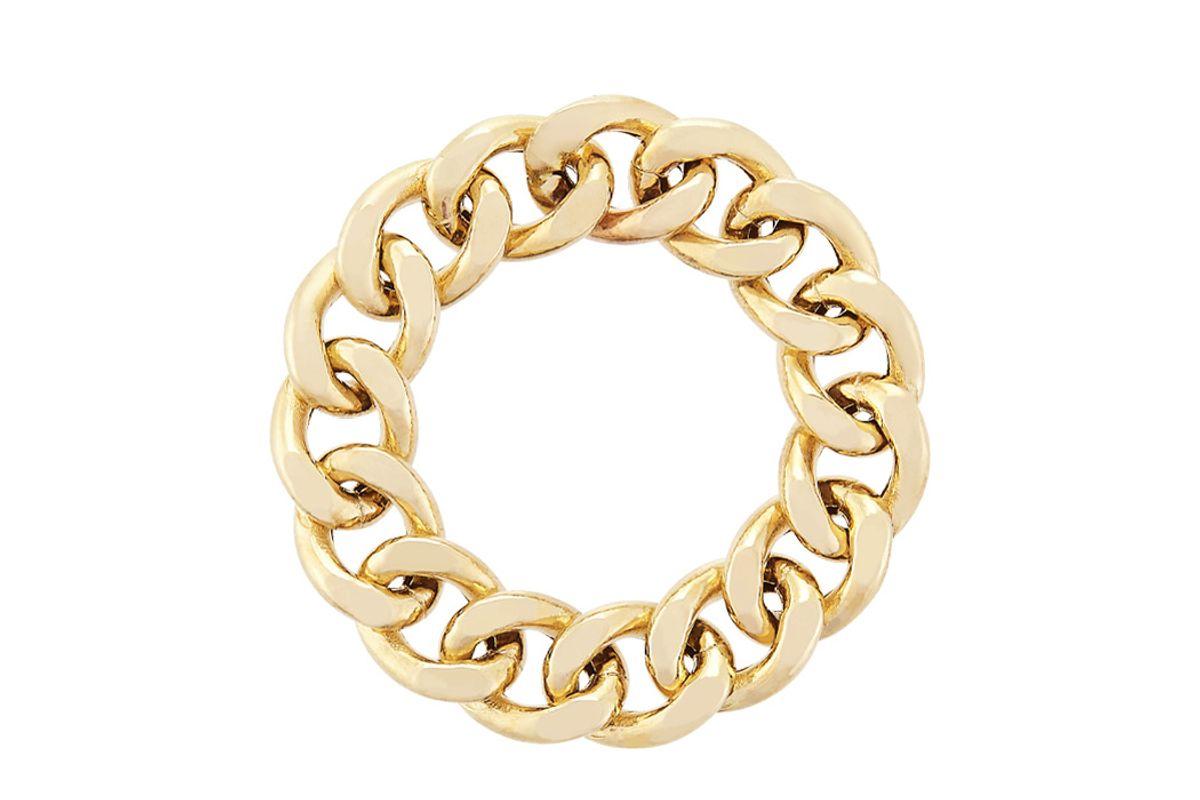 mejuri bold chain ring