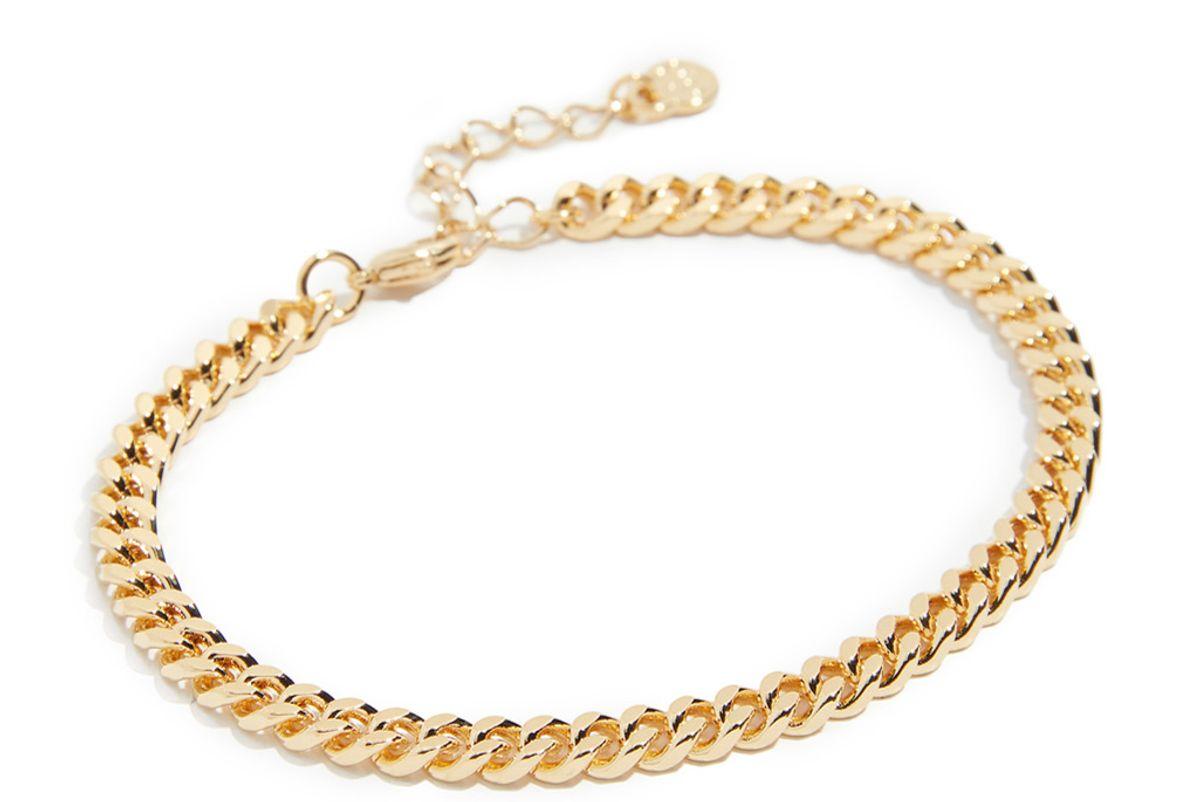cloverpost large curb chain bracelet